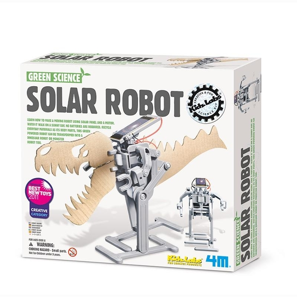 【4M】03294 科學探索-太陽能機器人 Solar Robot