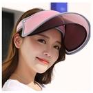 Qmishop 360度防曬遮陽帽 防紫外線雙層鏡片款【G2626】