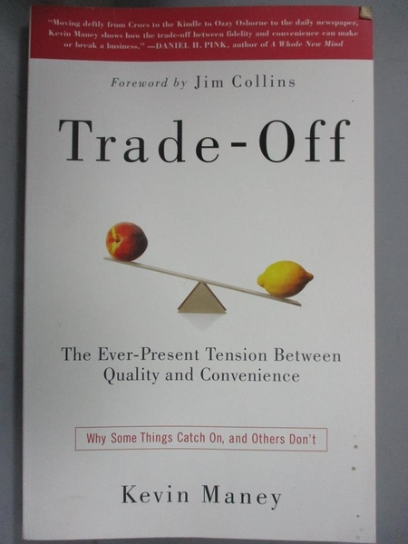 【書寶二手書T1/行銷_JOG】Trade-Off: Why Some Things Catch On, and Others Don't