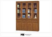 【MK億騰傢俱】BS249-01柚木色5.3尺書櫥組