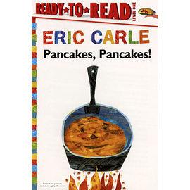 【麥克書店】《ERIC CARLE經典繪本讀本版》PANCAKES PANCAKES /L1