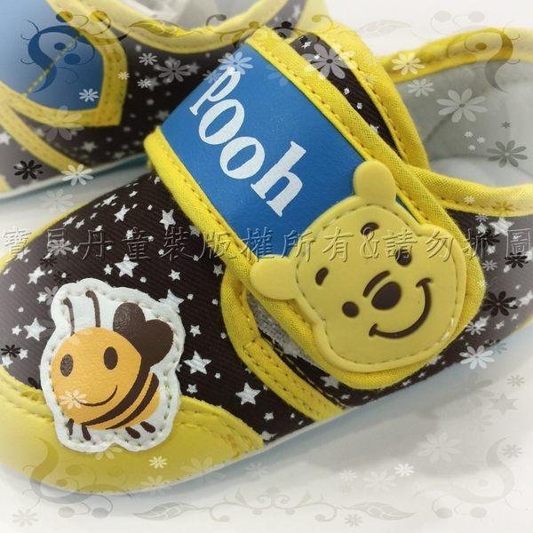 ☆╮寶貝丹童裝╭☆正版 台灣授權 迪士尼 小熊維尼 蜜蜂 造型 寶寶 健康 學步鞋 Baby鞋 現貨
