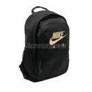 Nike 後背包 NSW Backpack 黑 金 男女款 基本款 書包 運動休閒 【PUMP306】 CK0954-011