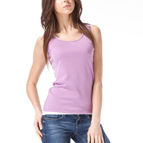 《MORINO》機能休閒抗UV速乾涼感女背心-紫色