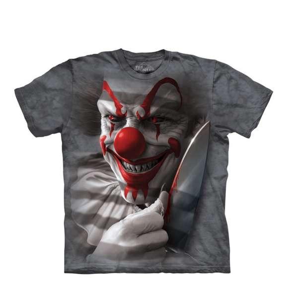 【摩達客】(預購)美國進口The Mountain 血腥小丑 純棉環保短袖T恤(10415045393a)