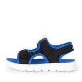 Skechers C-flex Sandal 2.0 [400042LBBLM] 中童鞋 運動 拖鞋 涼鞋 透氣 黑 藍