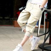 七分褲寬松夏季運動休閑短褲 st497『寶貝兒童裝』