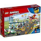 樂高積木 LEGO《 LT10764 》2018 年 Juniors 系列 - 城市中心機場╭★ JOYBUS玩具百貨