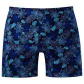 DADADO-秋楓 M-3L 印花平口內褲(藍)GH7295-DB