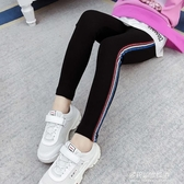 女童秋冬長褲-女童打底褲秋裝新款韓版中大童時髦兒童裝超洋氣修身小腳褲子 多麗絲