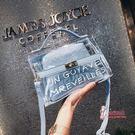 果凍包 果凍包透明小包包女2019新款潮女包斜背包韓版夏天百搭單肩 5色