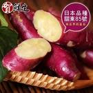 【南紡購物中心】【賀鮮生】日本團購美食-紫皮奶香栗子地瓜2包(1kg/包)