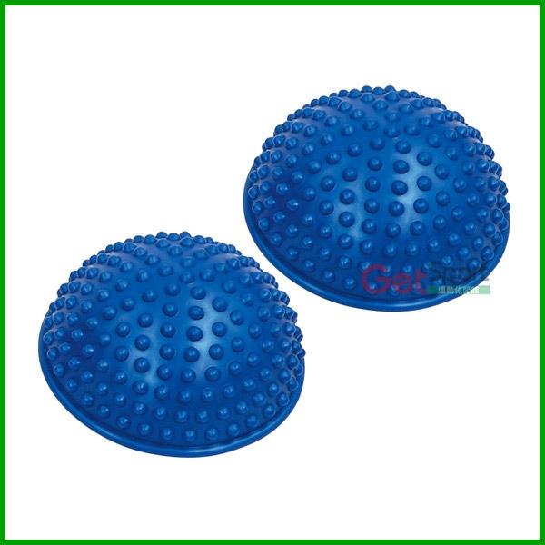 【南紡購物中心】地雷平衡球(踩踏按摩球/腳底按摩/半圓球/反映訓練器/榴蓮球)
