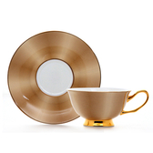 【Royal Duke】骨瓷咖啡對杯-金碧輝煌(皇家典藏奢豪金)