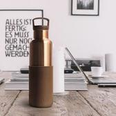 HYDY 摩卡-古銅金 時尚保溫水瓶 590ml