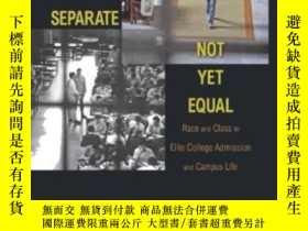 二手書博民逛書店No罕見Longer Separate, Not Yet EqualY362136 Thomas J. Esp