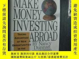 二手書博民逛書店英文原版罕見HOW TO MAKE MONEY INVESTIN