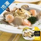 金品克里昂乳酪奶油海鮮麵410g/盒【愛...