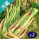台南將軍綠蘆筍2束(180G±5%/束)【愛買冷藏】