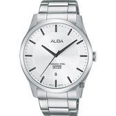 ALBA 雅柏 時尚東京石英手錶-銀/40mm VJ42-X211S(AS9C95X1)