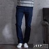 【JEEP】美式經典多口袋工作長褲 (深藍)