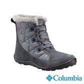 Columbia 女 防水保暖雪鞋-藍灰色 【GO WILD】