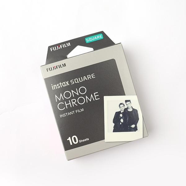 instax SQUARE 黑白B&W底片- Norns 日本富士Fujifilm拍立得 黑白風格 Monochrome 方形底片