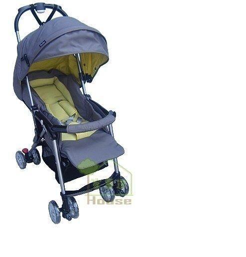 [家事達] Mother's Love  輕量輕便雙向秒縮嬰兒手推車5.6KG-藍色~可單手收合   特價