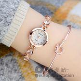 手錶/手鏈錶女錶防水女生石英錶「歐洲站」