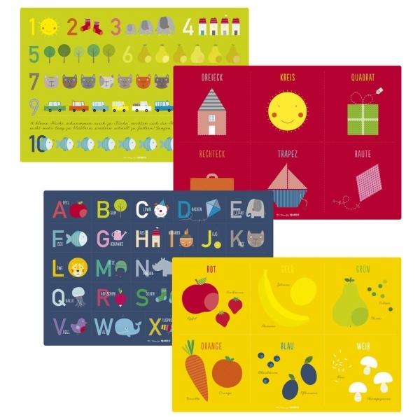 JAKO-O德國野酷-兒童教育學習餐墊
