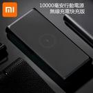 小米無線充電 行動電源10000mAh青...