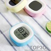 觸摸大屏幕聲音家用廚房觸屏定時提醒器兒童電子秒表學生倒計時器「Top3c」