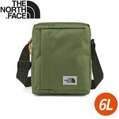 【The North Face 6L 斜背包《軍綠》】3KZT/小包/側背包/斜背包/休閒背包/單肩包
