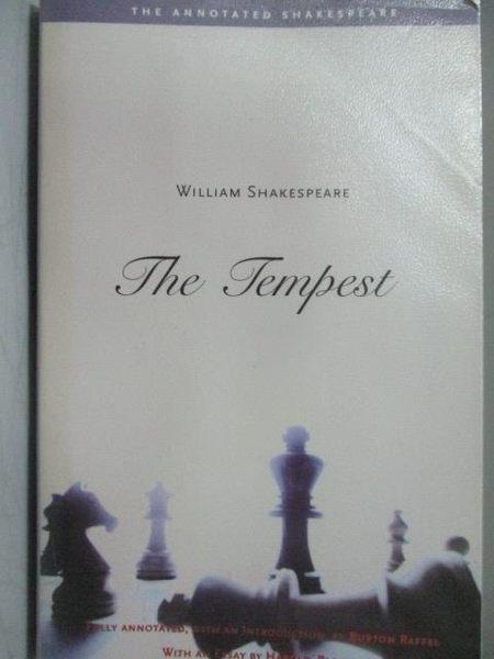 【書寶二手書T6/原文小說_MPZ】The Tempest_William Shakespeare