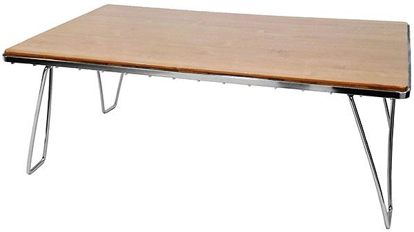 Chanodug | 不鏽鋼竹桌面 | 秀山莊(14A-01E010A)