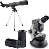 EDU SCIENCE 簡易科學版顯微望遠鏡組