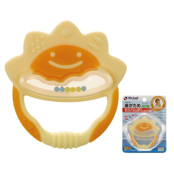 Richell橘色小太陽固齒器(牙膠)【TwinS伯澄】