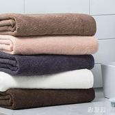 浴巾 素色浴巾棉質成人柔軟吸水大浴巾洗澡巾毛巾棉質家用 LN3488 【雅居屋】