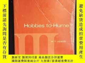 二手書博民逛書店A罕見History of Western Philosophy: Hobbes to Hume, Volume