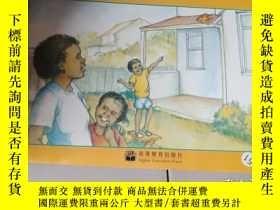 二手書博民逛書店體驗英語少兒閱讀文庫罕見monkey on the roofY1