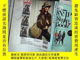 二手書博民逛書店日文原版罕見16開時尚雜誌 GLAMOROUS SNAP STYLE BOOK 2012-23 Autumn&Wi