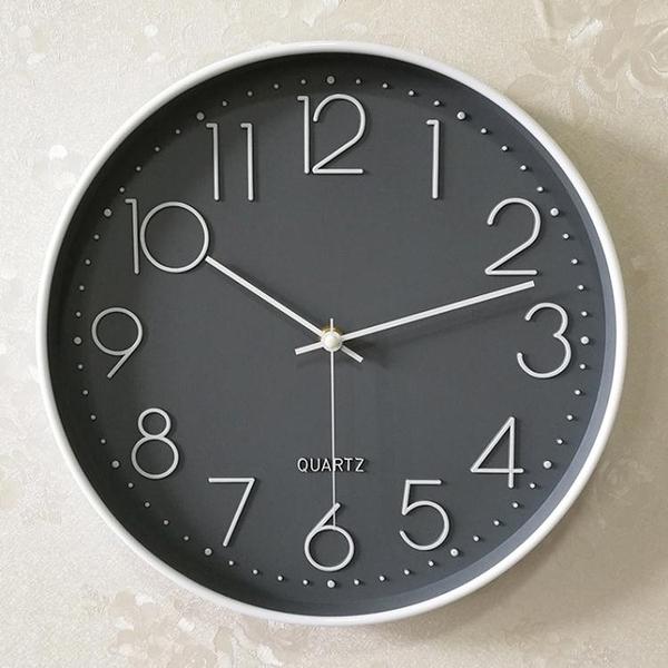 掛鐘 靜音鐘錶掛鐘客廳家用時尚時鐘掛墻簡約大氣創意個性錶北歐石英鐘 ATF 叮噹百貨