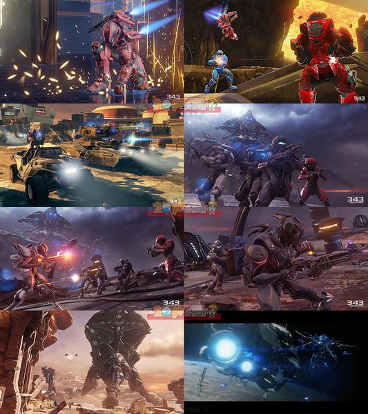 XBOX ONE Halo 5 最後一戰5 守護者 -中文英文合版- Guardians
