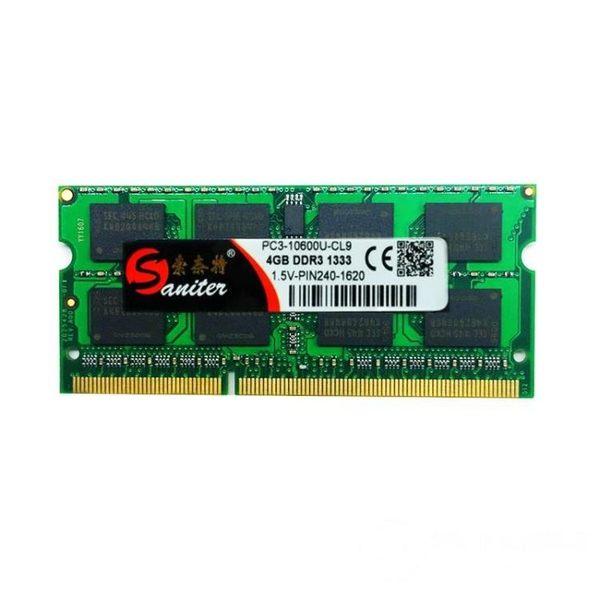 記憶體 DDR3 1333 4G 筆電記憶體 兼容1600 可雙通8G