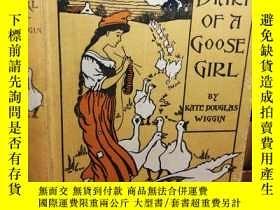 二手書博民逛書店1902年罕見有簽名 THE DIARY OF A GOOSE