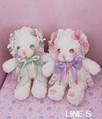 原創設計lolita兔熊包洛麗塔lo娘包雙肩斜挎軟妹包生日禮物