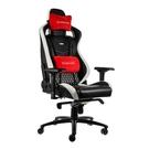 noblechairs皇家EPIC系列電競賽車椅-真皮經典款-黑/白/紅