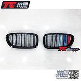 BMW F10 F11 水箱罩 鼻頭 雙槓亮黑3色 5系列 現貨供應 TRANCO 川閣