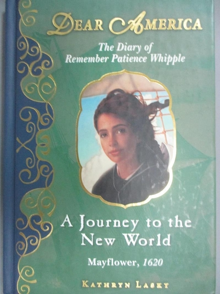 【書寶二手書T8/少年童書_CAF】Dear America: A Journey to the New World_Lasky, Kathryn