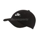 Nike 帽子 NSW Heritage 86 Cap 黑 白 男女款 老帽 毛料 運動休閒 【ACS】 CK1326-010